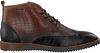 Brown CYCLEUR DE LUXE Lace-ups LIMA - small