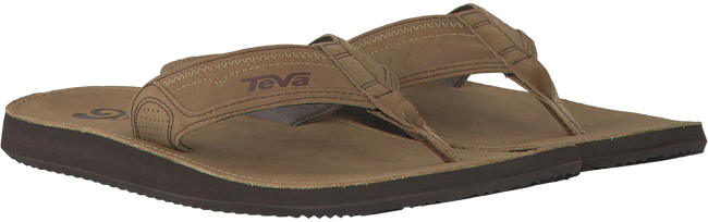 Brown TEVA Flip flops 4167 BENSON - large