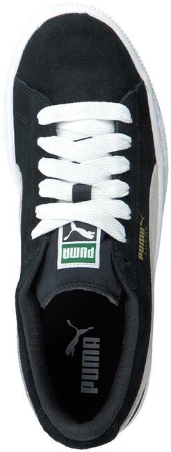 Black PUMA Sneakers SUEDE JR - large