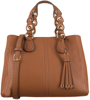 Cognac LIU JO Handbag M SATCHEL  - medium