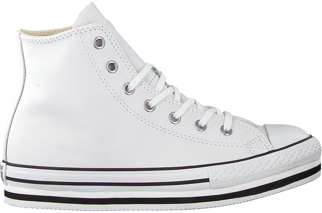 white converse sneakers all star platform eva-hi-