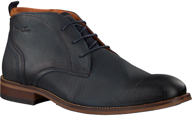 Blue VAN LIER Business shoes 1859201 - large