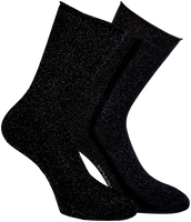 Black MARCMARCS Socks ERICA COTTON 2-PACK - medium