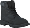 Black TIMBERLAND High boots 6IN PREMIUM - small
