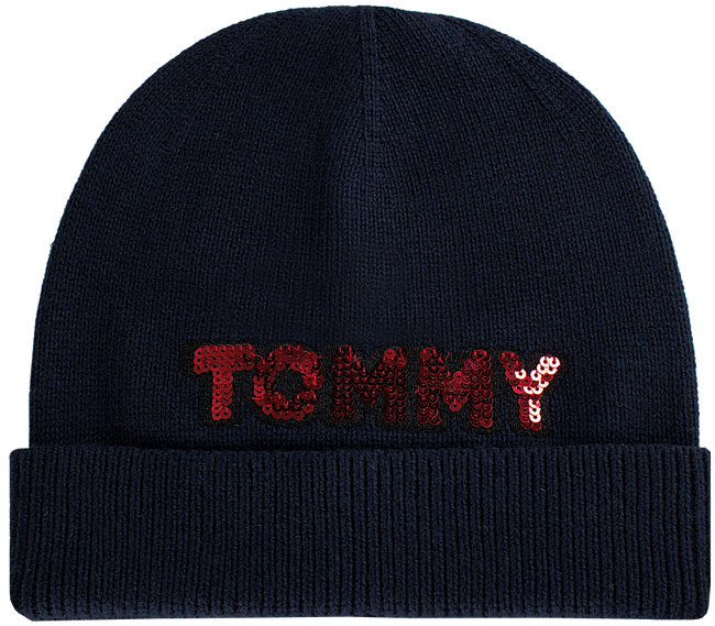 TOMMY HILFIGER Bonnet PATCH KNIT BEANIE  - large