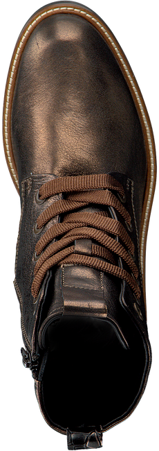 Bronze MARIPE Lace-up boots 27672  - large