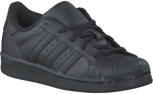 Black ADIDAS Sneakers SUPERSTAR KIDS - large