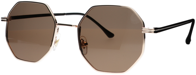 Brown WYSH Sunglasses ROBYN  - large
