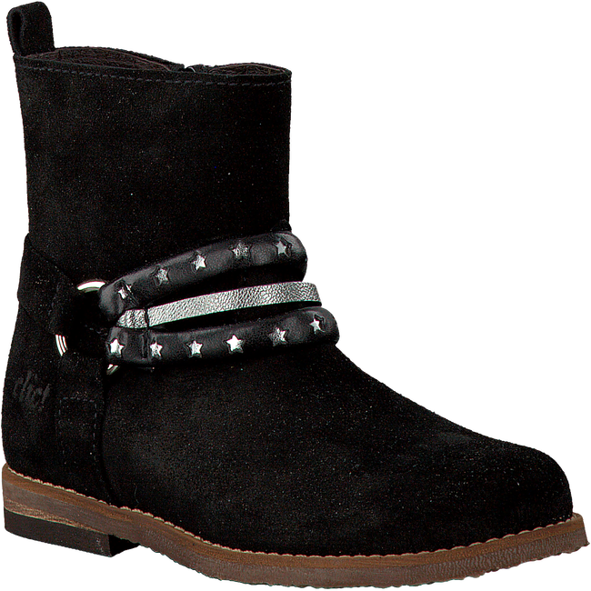 Black CLIC! High boots 9245 - large