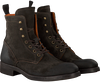 Brown OMODA Lace-up boots 8004 - small