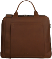 Cognac MYOMY Laptop bag MY LOCKER BAG BUSINESS  - medium