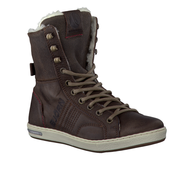 Brown BJORN BORG Ankle boots ADRIAN HIGH KIDS - large