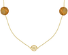 Gold JEWELLERY BY SOPHIE Necklace NECKLACE DESERT - small