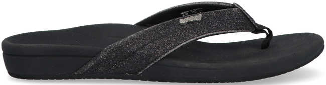 Black REEF Flip flops ORTHO SPRING  - large