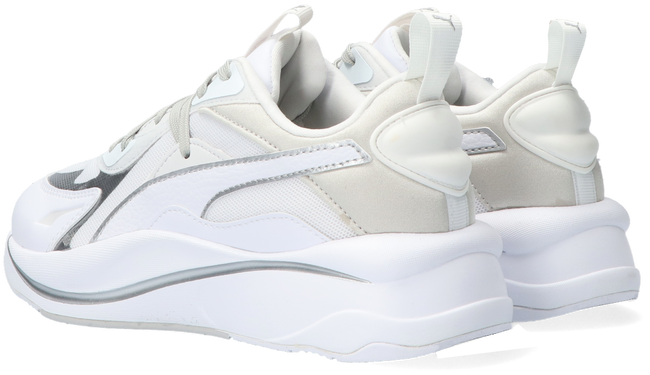 White PUMA Low sneakers RS CURVE GLOW WNS  - large