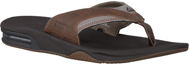 Brown REEF Flip flops FANNING - large