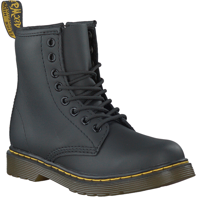 Black DR MARTENS Lace-up boots DELANEY/BROOKLY - large