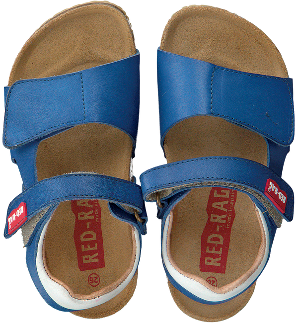Blue RED RAG Sandals 19093 - large