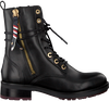 Black TOMMY HILFIGER Booties COPPORATE TASSEL BIKER BOOT - small