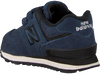 Blue NEW BALANCE Sneakers YV574/IV574 - small
