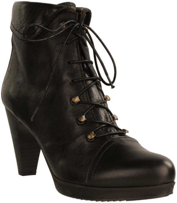 Black HISPANITAS Booties 14951 - large