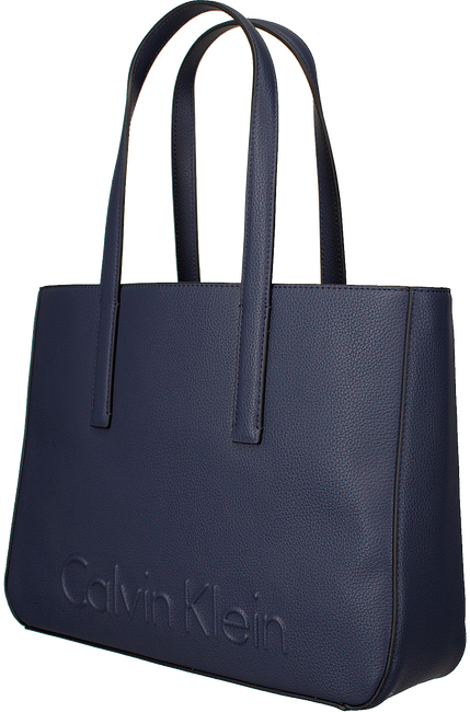 Blue CALVIN KLEIN Shopper EDGE MEDIUM SHOPPER - large