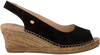 Black FRED DE LA BRETONIERE Espadrilles 153010083  - small