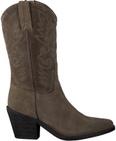 Taupe RED-RAG Cowboy boots 77048  - medium