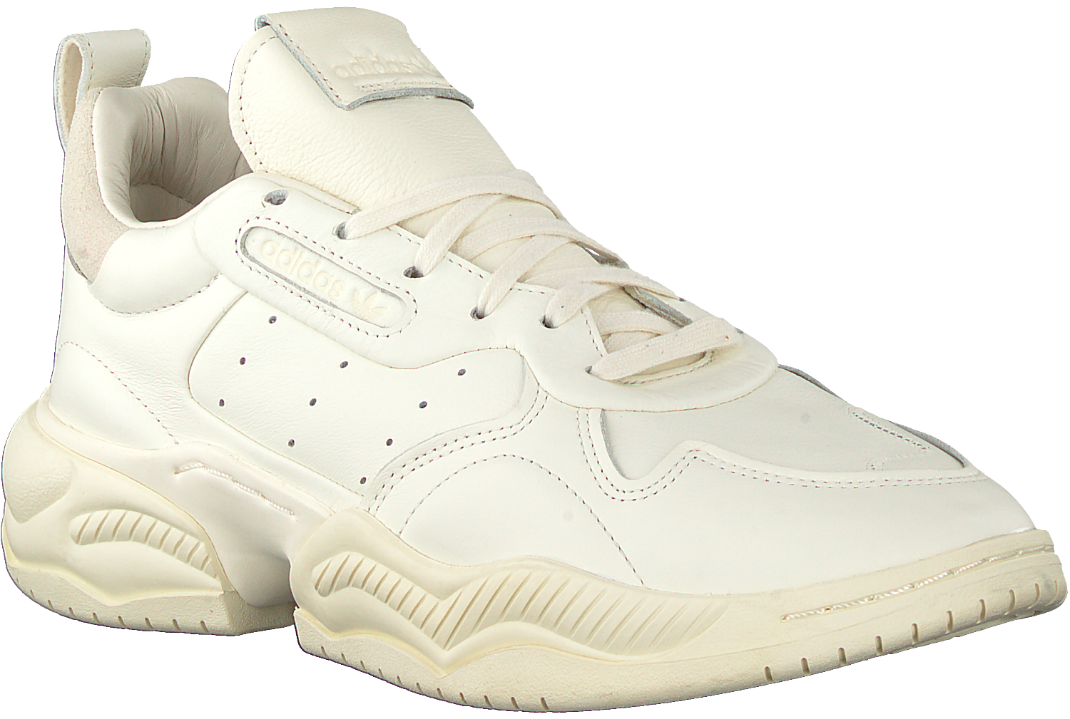 White ADIDAS Low sneakers SUPERCOURT RX W - Omoda.com