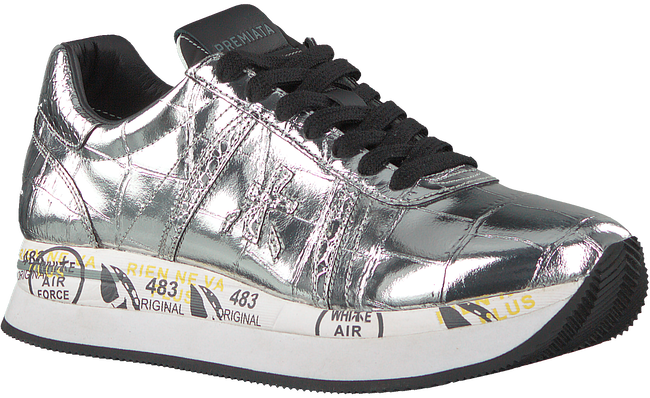 Silver PREMIATA Low sneakers CONNY  - large