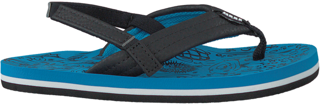 Blue REEF Flip flops GROM REEF FOOTPRINTS - large