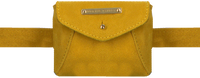 Yellow FABIENNE CHAPOT Belt bag CINDY MINI PURSE BELT  - medium