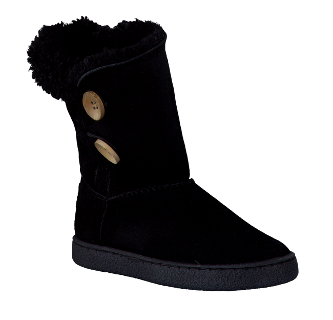 Black GATTINO Fur boots 3037 - large