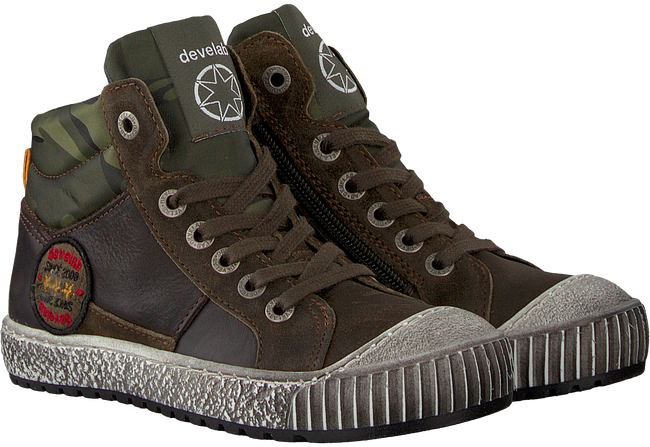 Green DEVELAB Sneakers 41717 - large