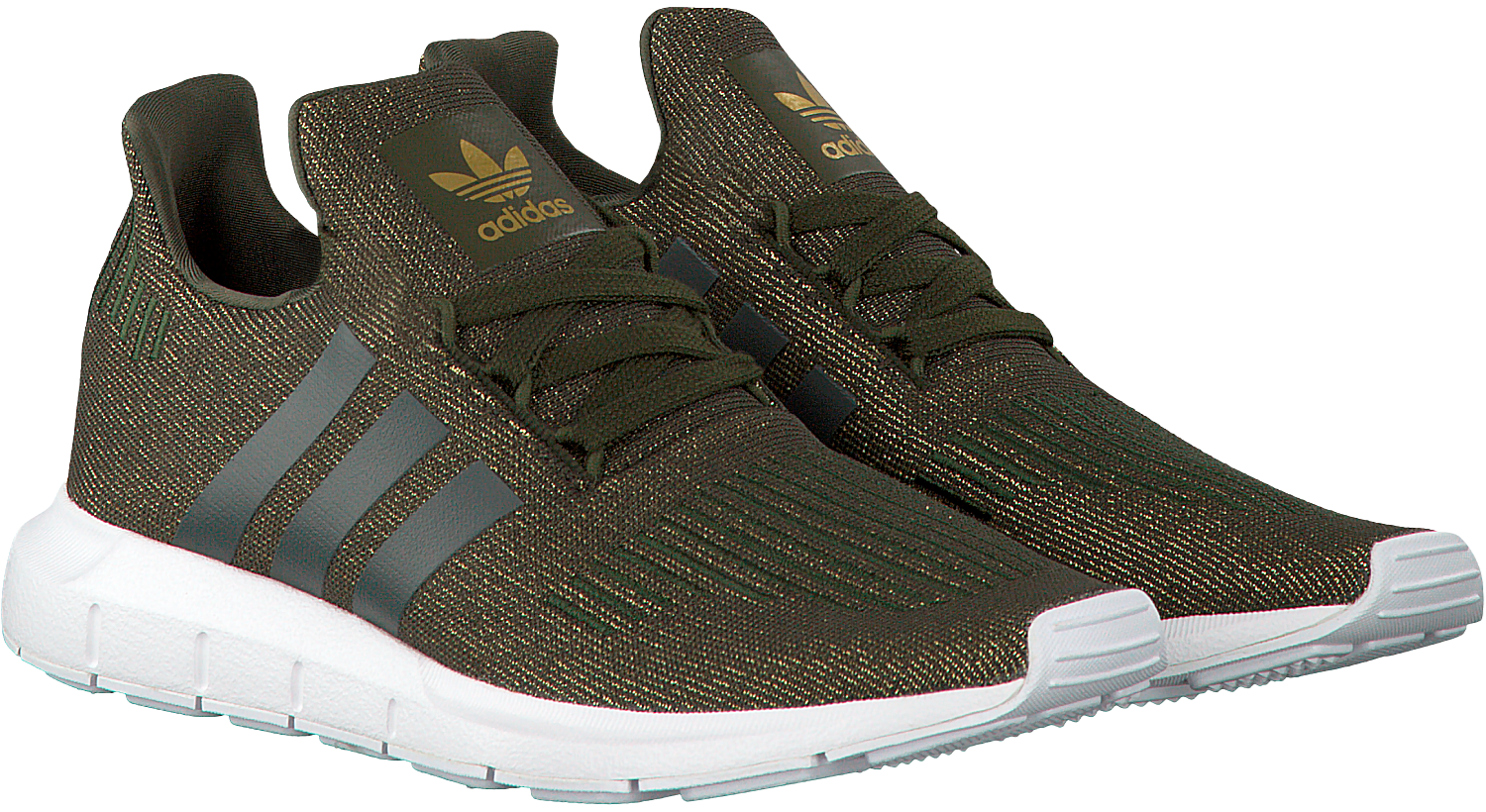 Green ADIDAS Sneakers SWIFT RUN DAMES - Omoda.com