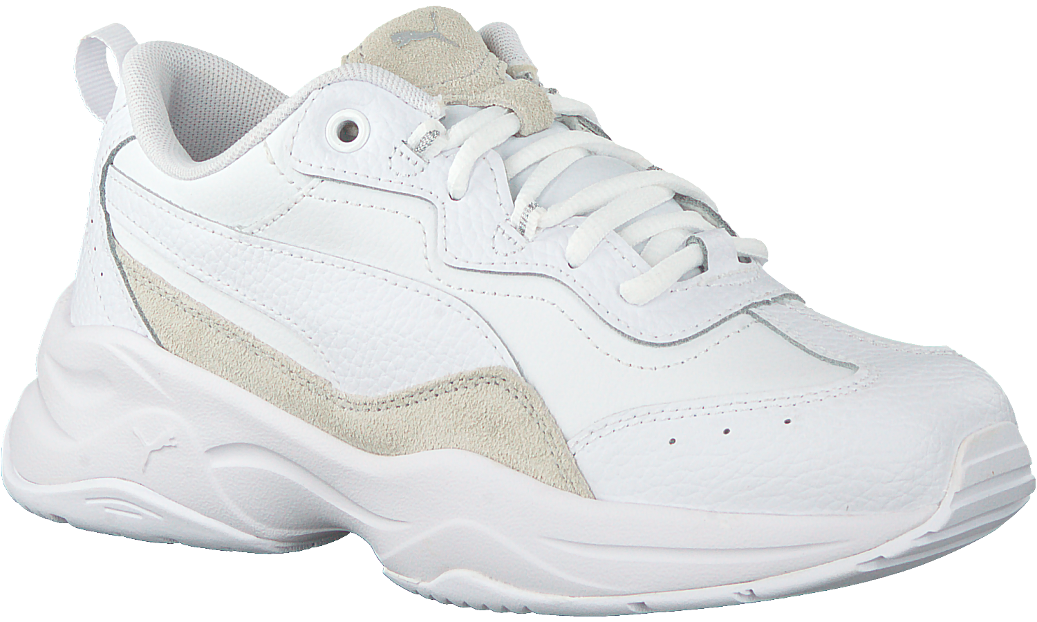 White PUMA Low sneakers CILIA LUX - Omoda.com