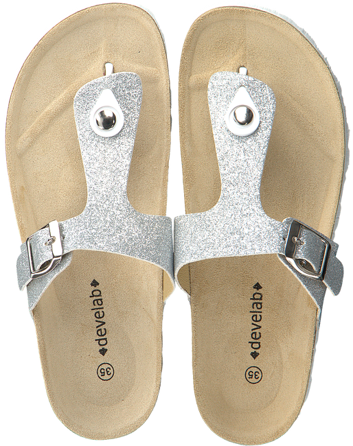 Silver DEVELAB Sandals 48062 - large