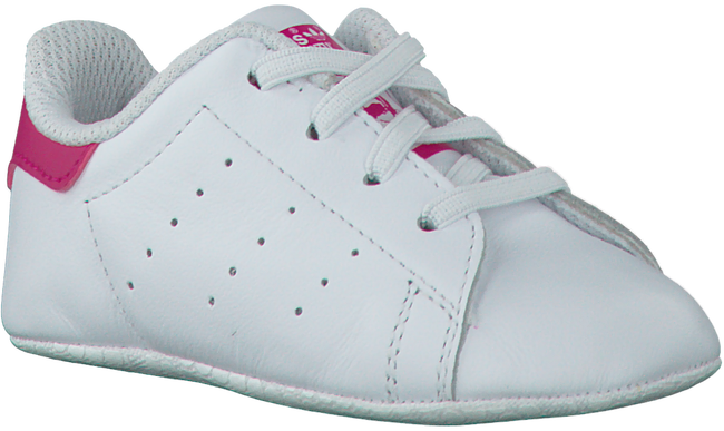 White ADIDAS Baby shoes STAN SMITH CRIB