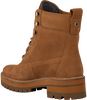 Brown TIMBERLAND Ankle boots COURMAYEUR VALLEY YB - small