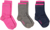 Pink LE BIG Socks KRISTEN SOCK 3-PACK  - small