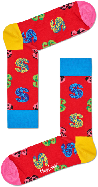 HAPPY SOCKS Socks ANDY WARHOL DOLLAR - large