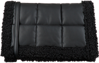 Black STAND STUDIO Clutch VIVIENNE QUILT  - medium