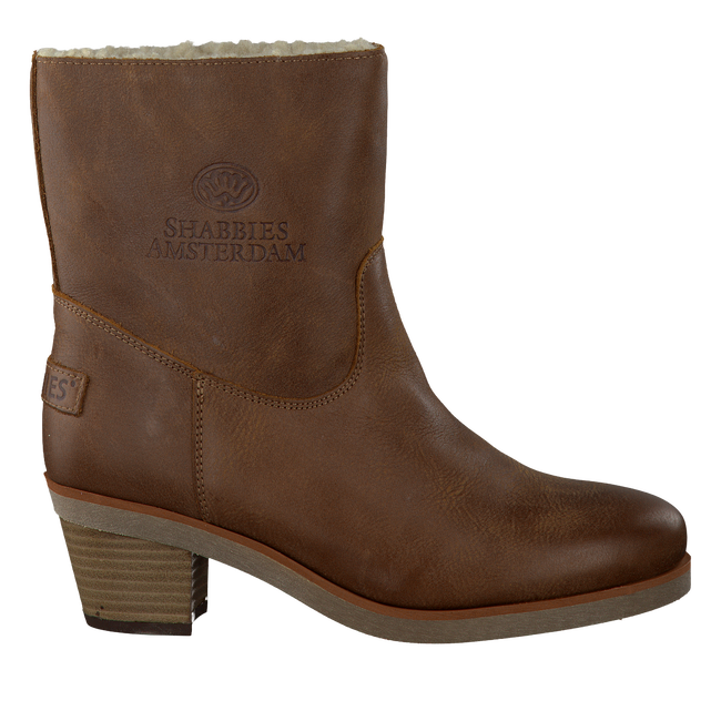 Brown SHABBIES Booties 201264 - large