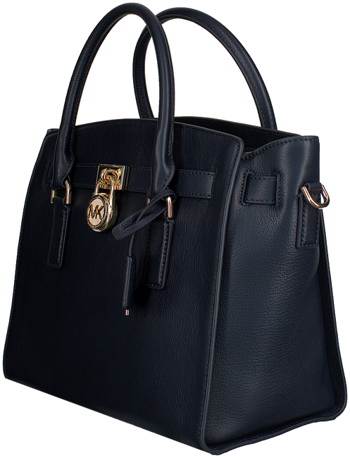 Blue MICHAEL KORS Shoulder bag HAMILTON EW SATCHEL - large