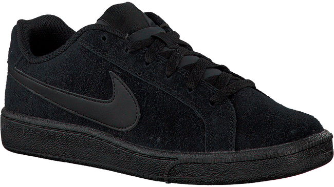 Black NIKE Sneakers COURT ROYALE SUEDE MEN - large