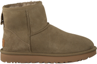 Brown UGG Fur boots CLASSIC MINI - medium
