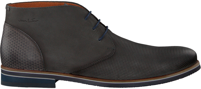 Grey VAN LIER Business shoes 1855602 - large