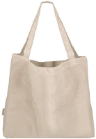 White STUDIO NOOS Shopper RIB MOM-BAG  - medium