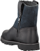 Black TIMBERLAND Ankle boots RIDGE WARM-LINED PULL ON - small