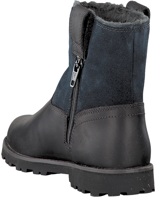 Black TIMBERLAND Ankle boots RIDGE WARM-LINED PULL ON - large